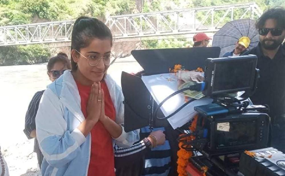 चलचित्र 'चिठ्ठी'को छायाङ्कनसुरु