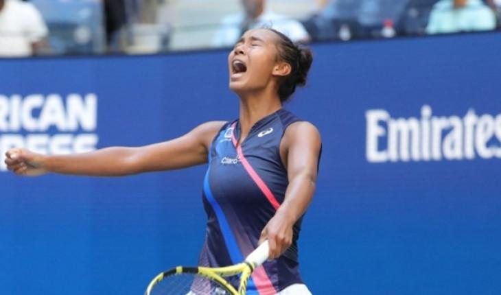 युएस ओपन टेनिसमा क्यानेडियन किशोरीको सनसनी