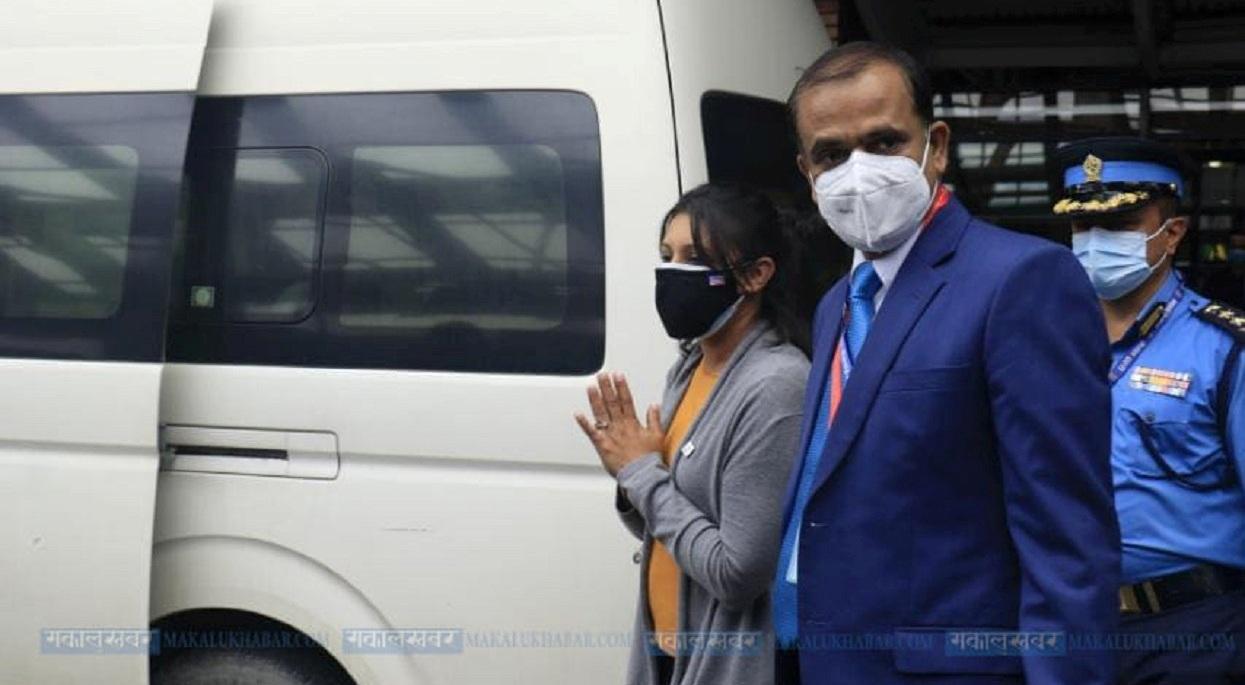 काठमाडौं आइपुग्यो एमसीसी उपाध्यक्ष नेतृत्वको टोली, सुरक्षा व्यवस्था कडा