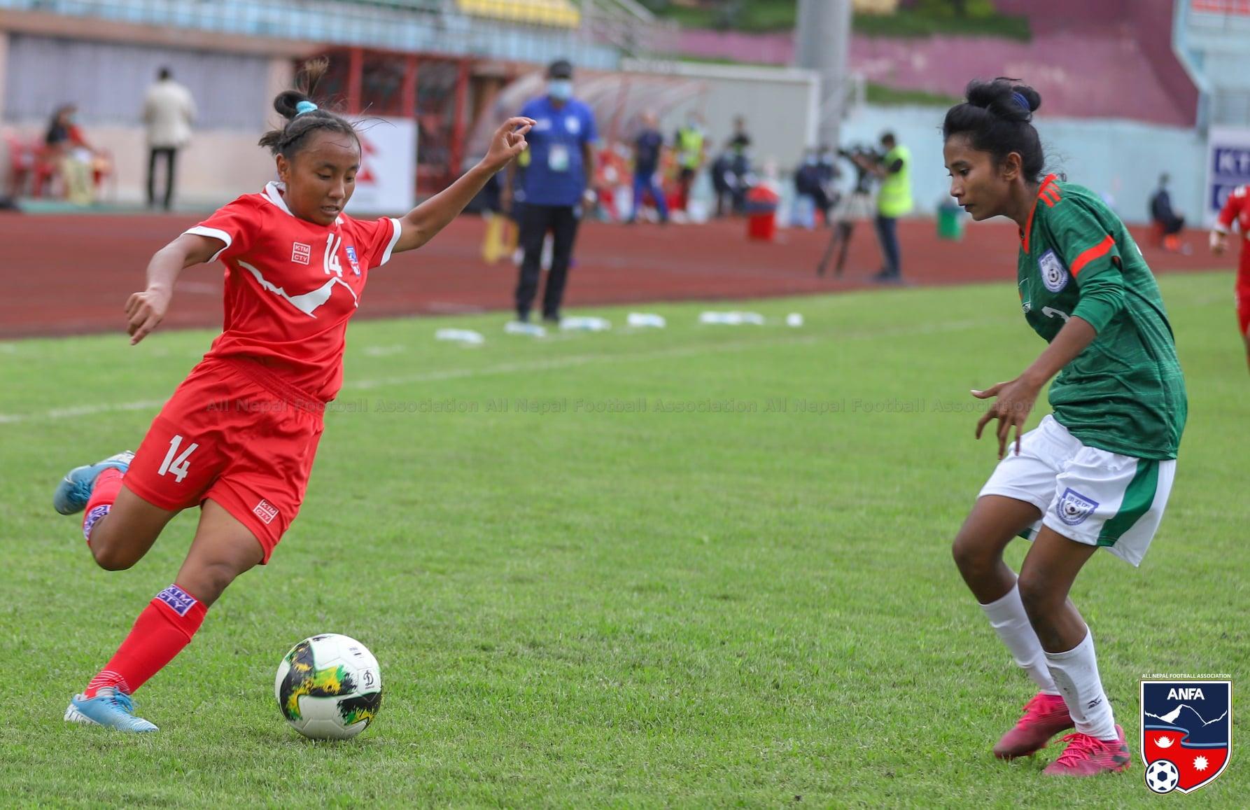 नेपाल र बंगलादेशबीचको दोस्रो मैत्रीपूर्ण खेल आज
