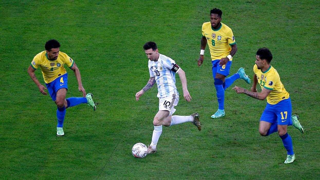 कोपा फाइनलपछि ब्राजिल र अर्जेन्टिना भिड्दै