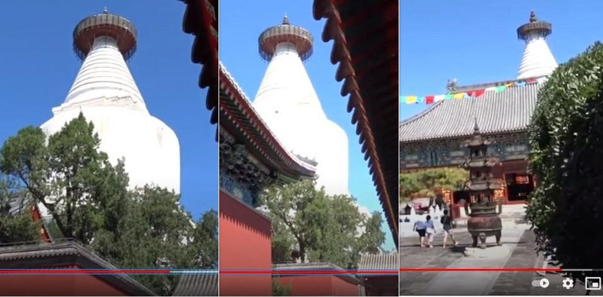 २ वर्षको मर्मतपछि चीनमा झिल्मिलायो अरनिकोले बनाएको श्वेतचैत्य (भिडियोसहित)