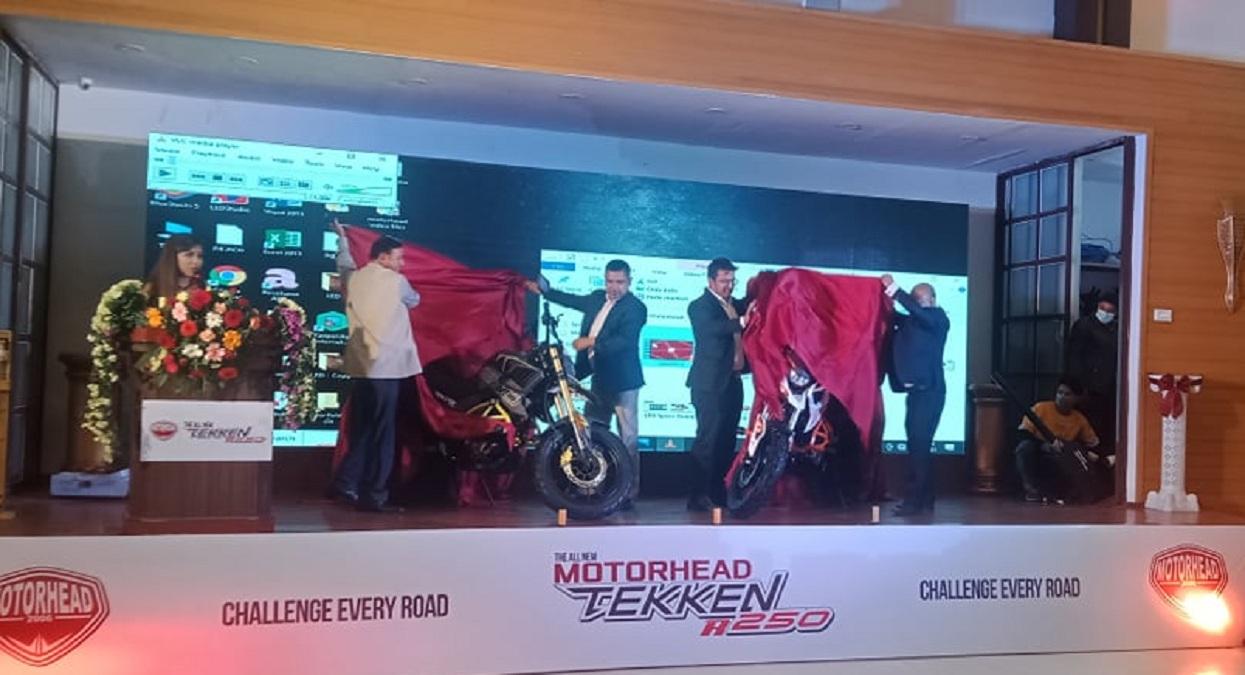 मोटरहेडको 'टेकेन आर २५०' मोटरसाइकल नेपाली बजारमा