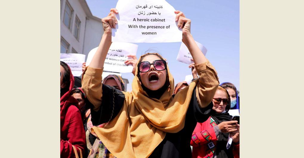तालिबानको घर खाली गर्ने उर्दीपछि कान्दहारमा हजारौँ स्थानीय विरोध प्रदर्शनमा