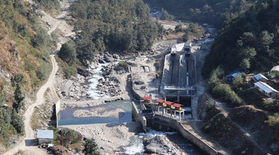 राहुघाट जलविद्युत् आयोजनाकाे सुरुङ र बाँध निर्माण सुरु