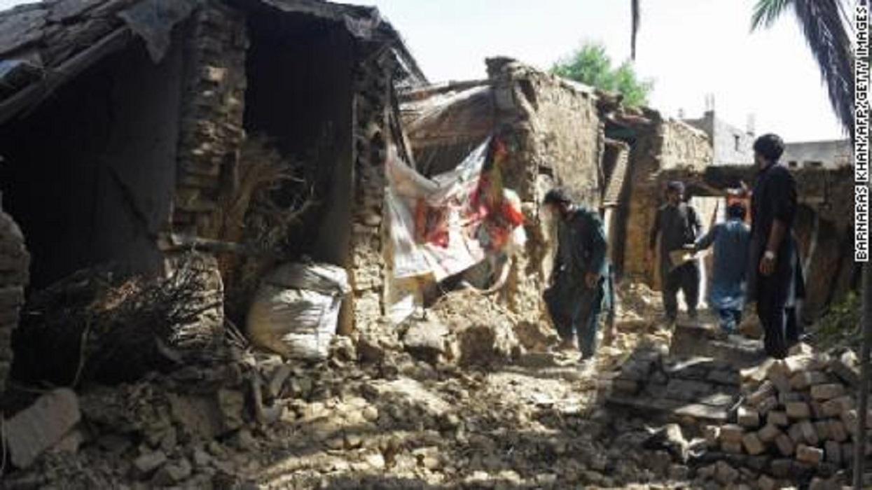 पाकिस्तानमा भूकम्पबाट एक सयभन्दा बढी घाइते