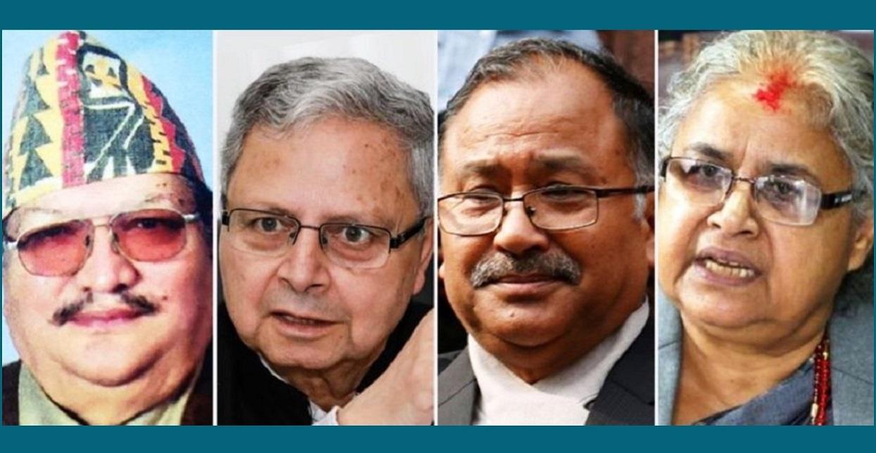 जबरालाई चार पूर्व प्रधान न्यायाधीशले भने- बहिर्गमनको बाटो रोज (विज्ञप्तिसहित)