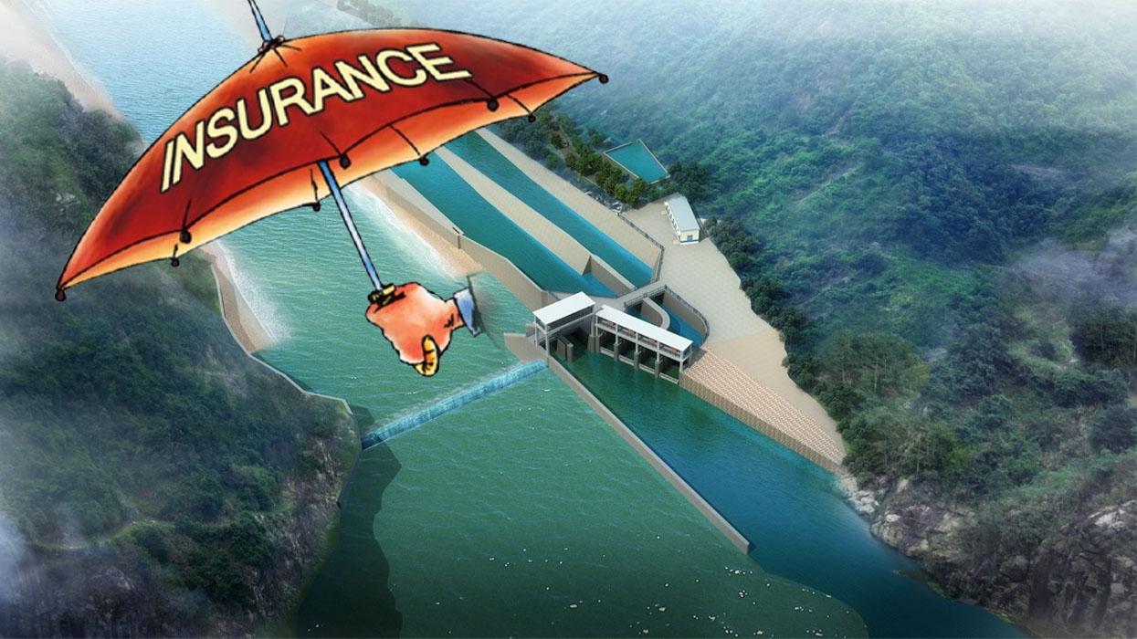 जलविद्युत् आयोजनाको बीमा शुल्क ६ गुणा वृद्धि, विदेशी पुनर्बीमा कम्पनीलाई कमाउने अवसर