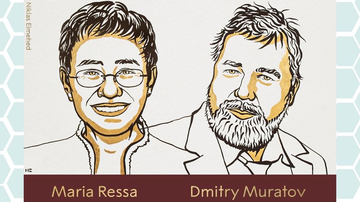 पत्रकारद्वय मारिया रेसा र दिमित्री मुराटोभलाई नोबेल शान्ति पुरस्कार