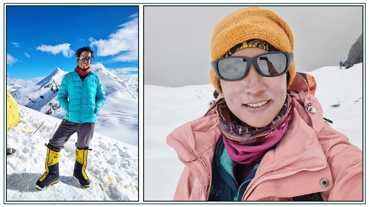 धौलागिरी हिमालको शिखरमा पाइला टेक्ने पहिलो नेपाली महिला बनिन् पूर्णिमा