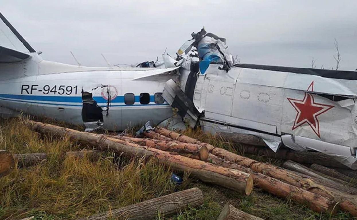 रुसमा विमान दुर्घटना' १६ जनाको मृत्यु