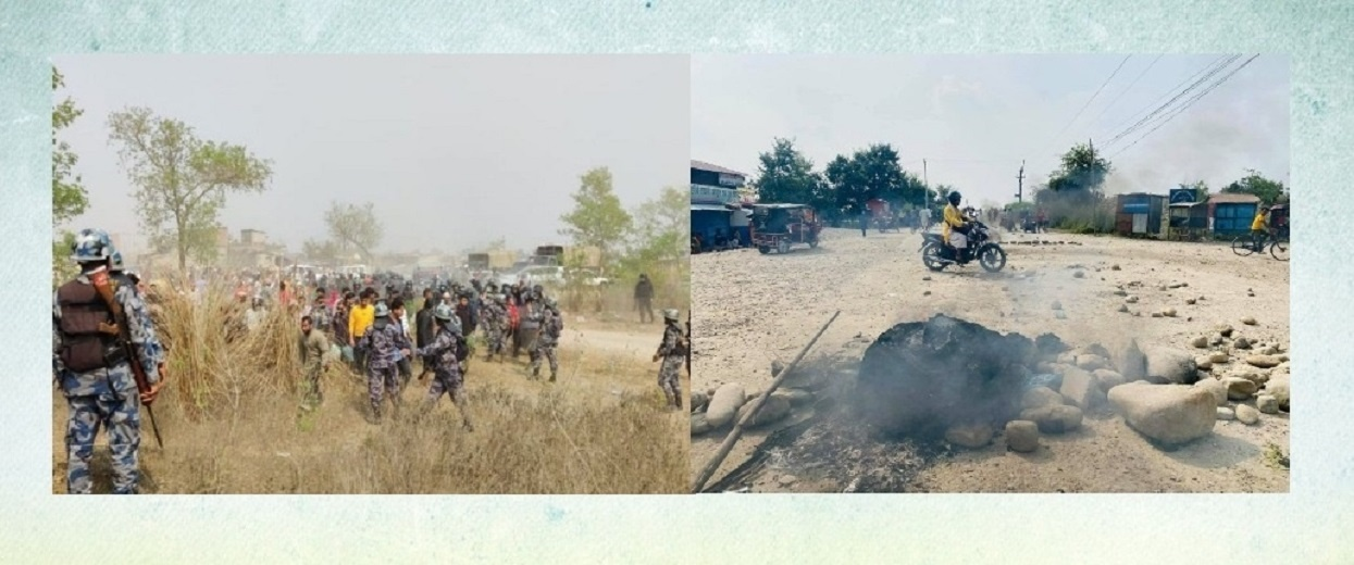 'प्रदर्शनकारीले पेट्रोल बम प्रहार गरेपछि प्रतिकार गर्न बाध्य भयौँ'