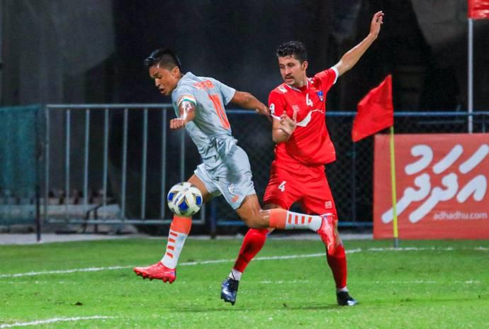 साफ च्याम्पियनसिप फाइनल : नेपाल २-० ले पछि