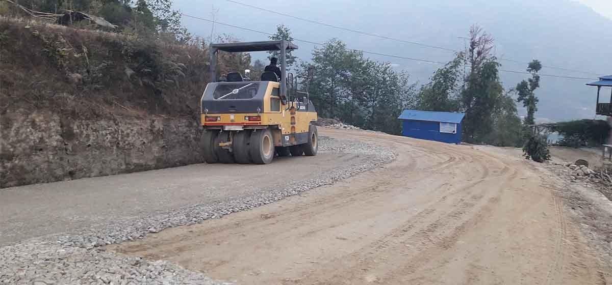 मध्यपहाडी लोकमार्ग : १४ वर्षमा जम्मा ५८ प्रतिशत निर्माण
