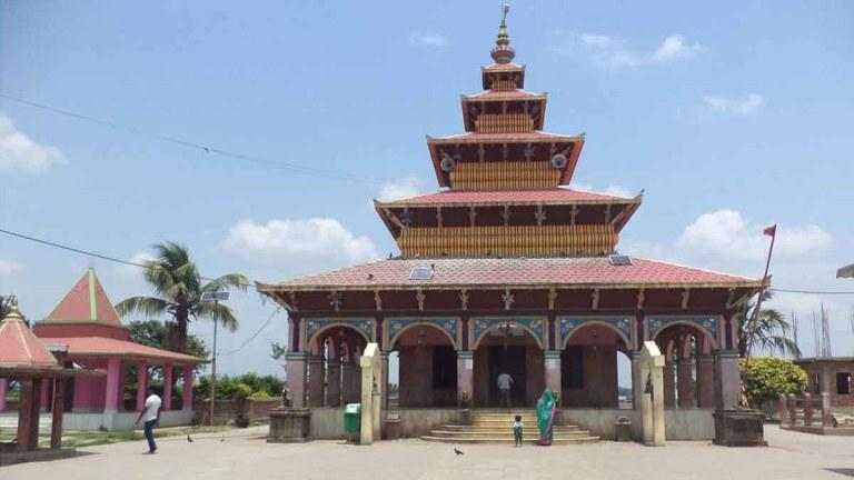 कंकालिनी भगवती मन्दिरमा ७ सय ४४ राँगाको बलि