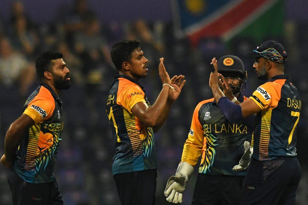 श्रीलंका टी-ट्वेन्टी विश्वकपको सुपर १२ मा